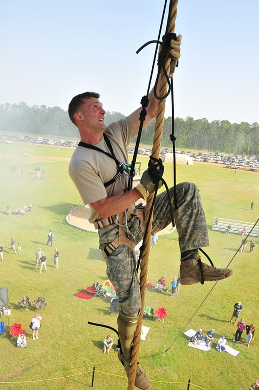 military training rope